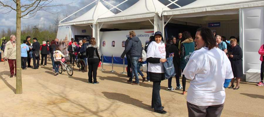 sport relief olympic British Airways