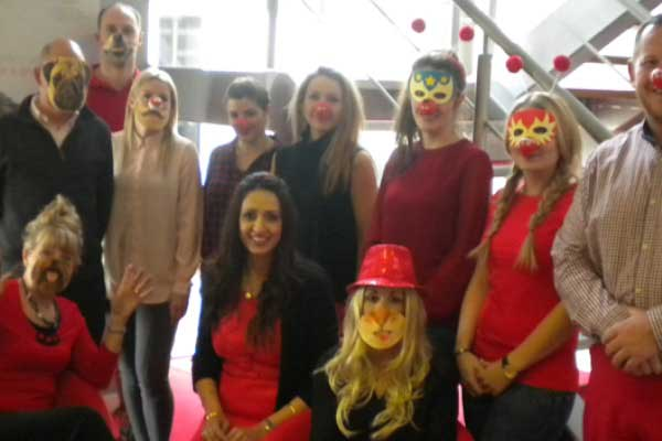 GL events uk Red Nose Day