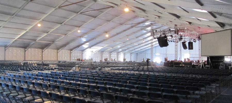Conferences Graduations Temporary Event Structure