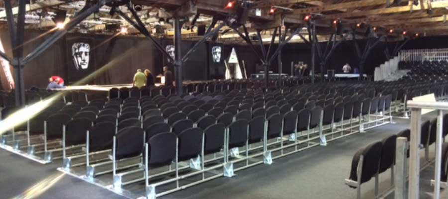 Conferences Graduations Tiered Seating Stage