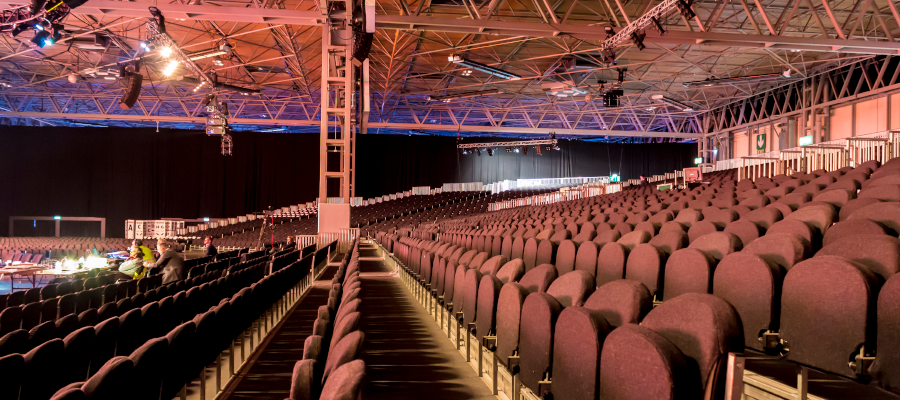 Conferences Graduations Tiered Seating