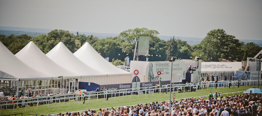 Investec Derby Festival at Epsom Racecourse