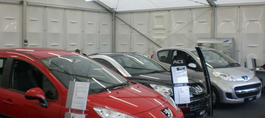 Retail Venues Pop Up Shops Car Showroom
