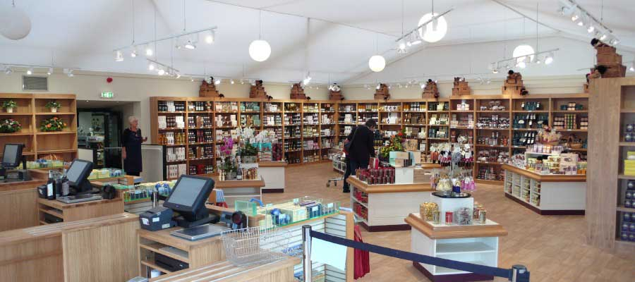Retail Venues Pop Up Shops Seasonal Festive Farm Shop