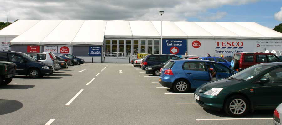 Retail Venues Pop Up Shops Supermarket