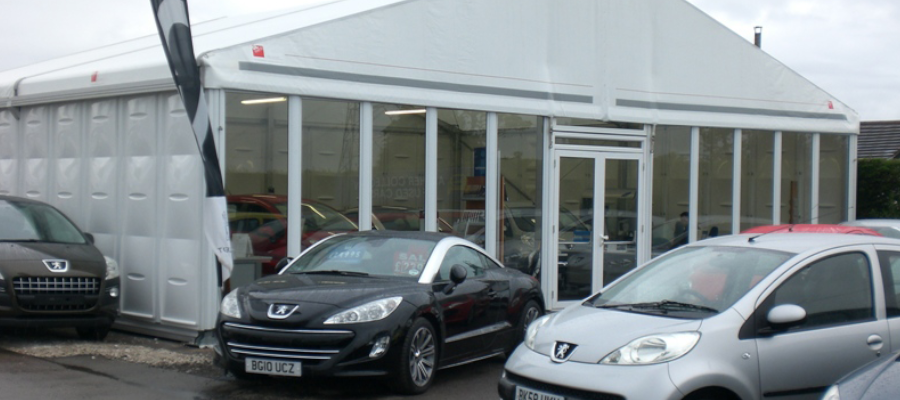 Retail Venues Pop Up Shops Temporary Car Showroom
