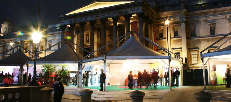 Retail Venues Pop Up Shops Temporary Market Pagoda