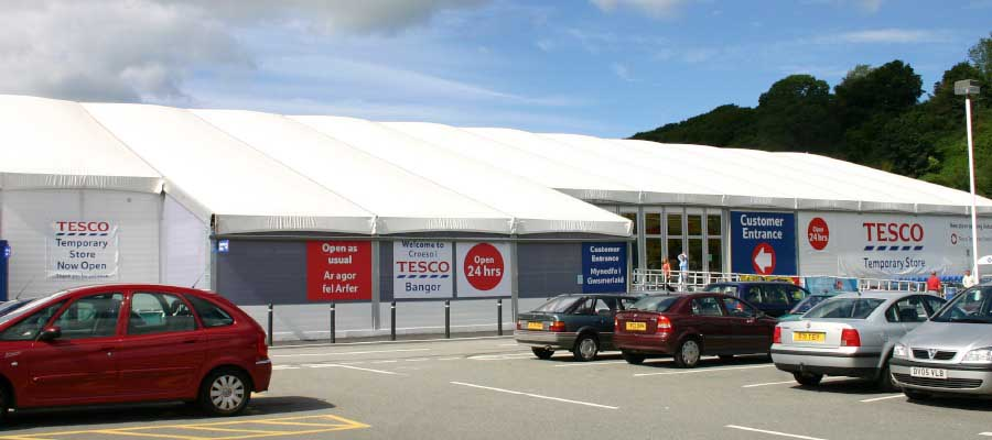 Retail Venues Pop Up Shops Temporary Supermarket Superstore