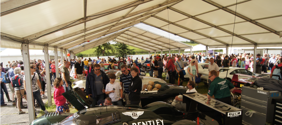 Show Festival Structure Motorsport