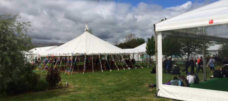 Show Festival Traditional Marquee