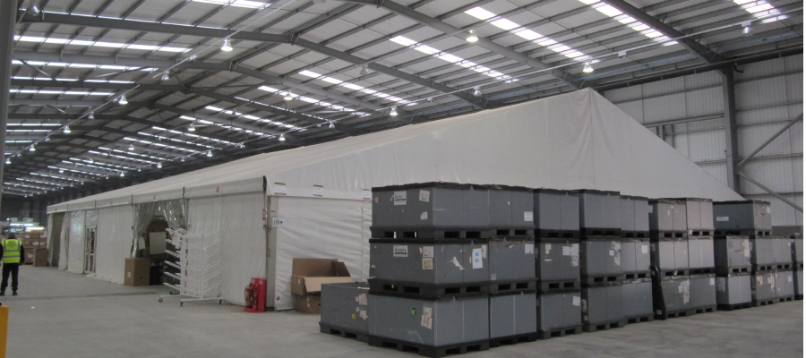 Storage Temporary Warehouse Industrial