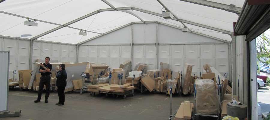 Storage Temporary Warehouse Retail