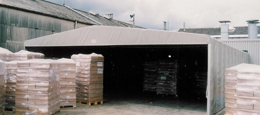 Storage Warehouse Industrial Temporary Structure