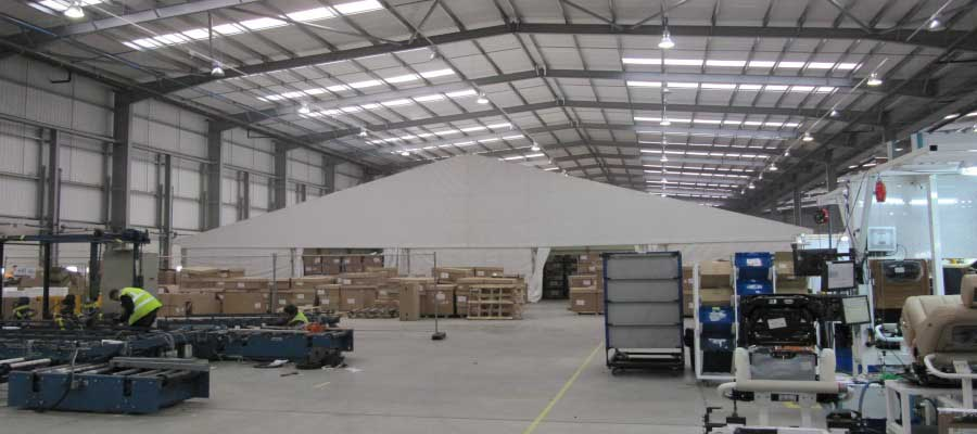Storage Warehouse Temporary Structure Industrial