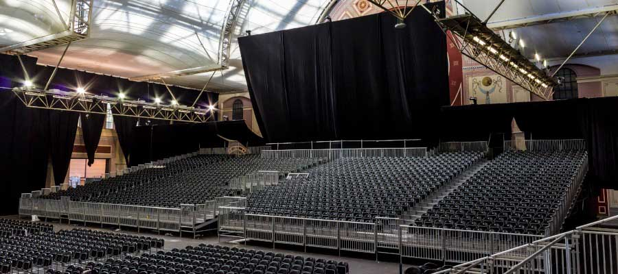 Theatres Concerts Tiered Seating Event