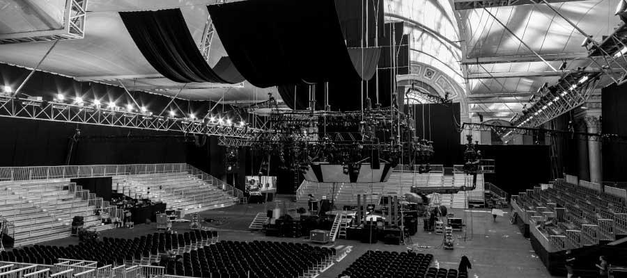 Theatres Concerts Venue Indoor Tiered Seating