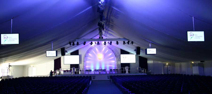 Conferences Graduations Complete Temporary Event Solution
