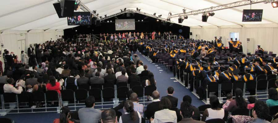 Conferences Graduations Structure Marquee Seating