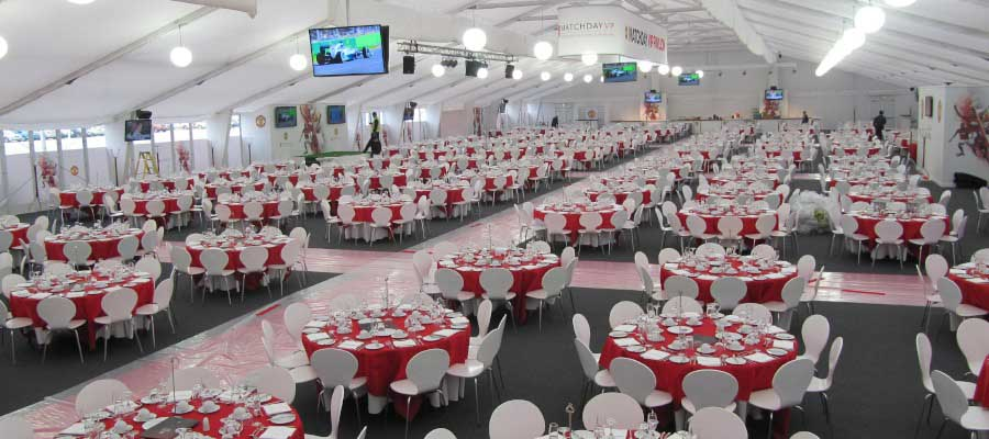 Corporate Events Product Launches Hospitality Structure