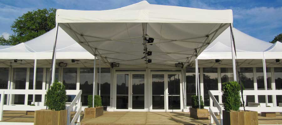 Corporate Events Product Launches Temporary Structure Entrance