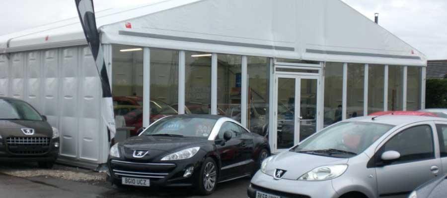 Retail Venues Pop Up Shops Temporary Car Showroom