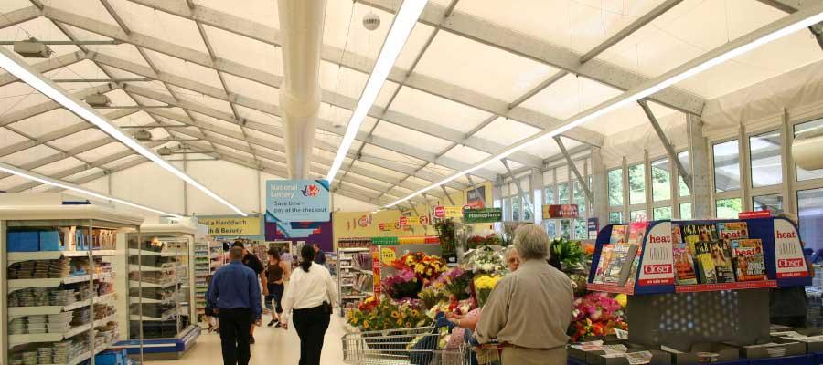 Retail Venues Pop Up Shops Temporary Structure Supermarket