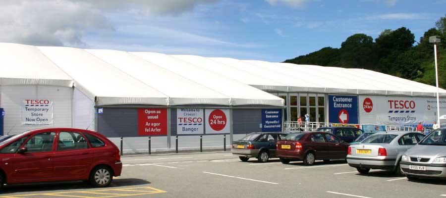 Retail Venues Pop Up Shops Temporary Supermarket Superstore
