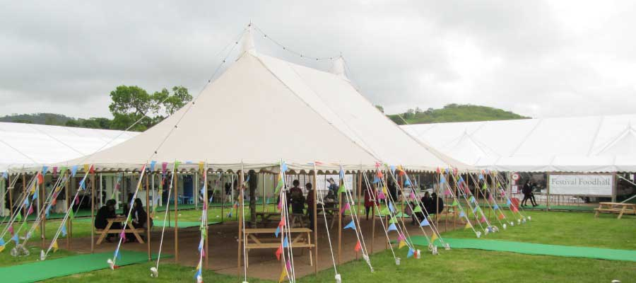 Show Festival Traditional Pole Tent Village