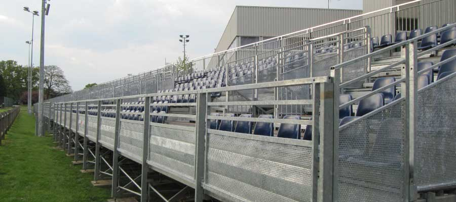 Cricket Temporary Tiered Seating