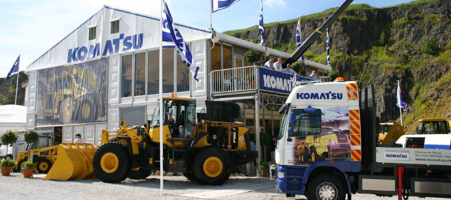Exhibitions and Trade Shows Agricultural Show Double Deck Structure