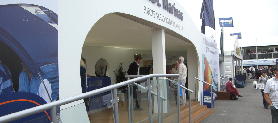Exhibitions and Trade Shows Bespoke Hospitality Structure