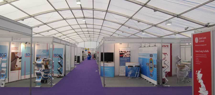 Exhibitions and Trade Shows Company Trade Stands Temporary Venue