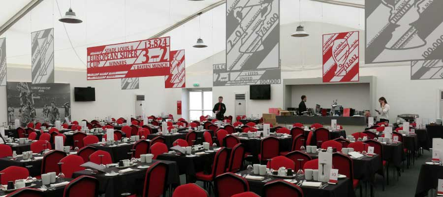 Football Matchday Hospitality Temporary Structure