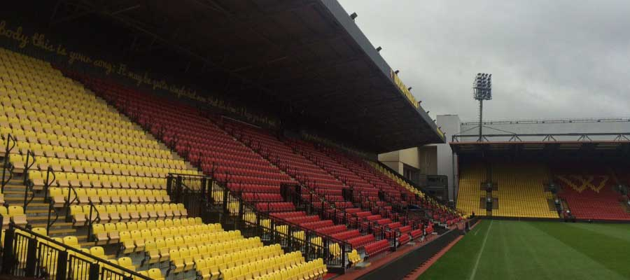 Football Stadium Construction Tiered Seating Grandstand Club Colours