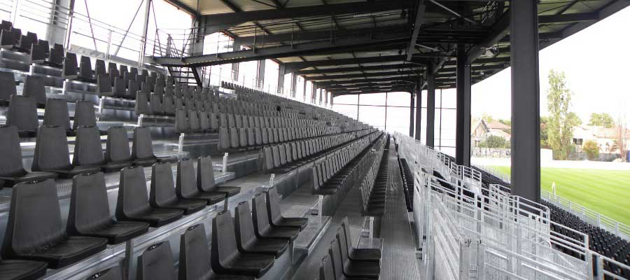 Football Stadium Construction Tiered Seating