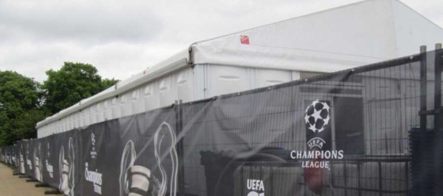 Football Temporary Structure Tournament Championship Infrastructure