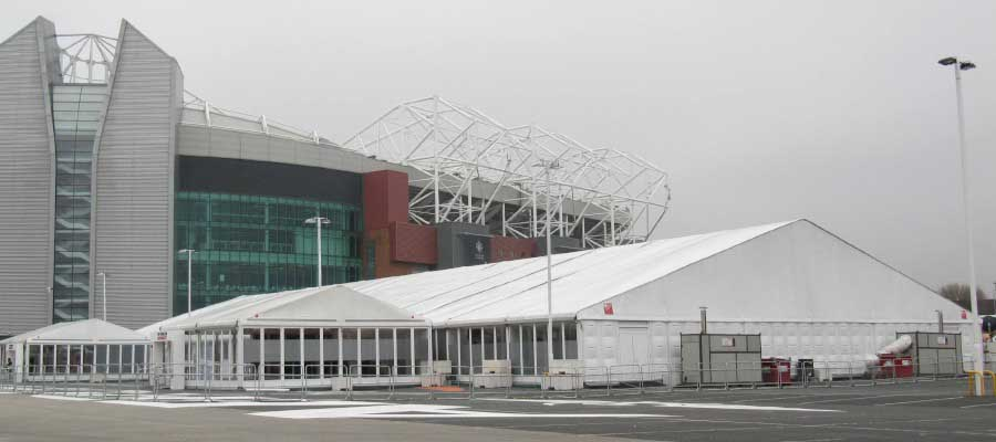Football Temporary Structure Hospitality