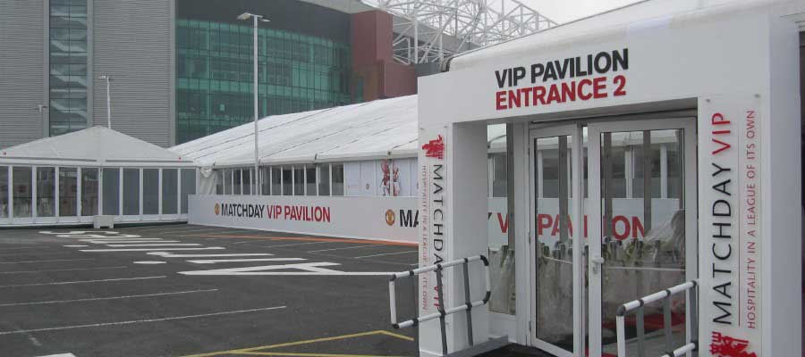 Football Temporary Structure Matchday Hospitality
