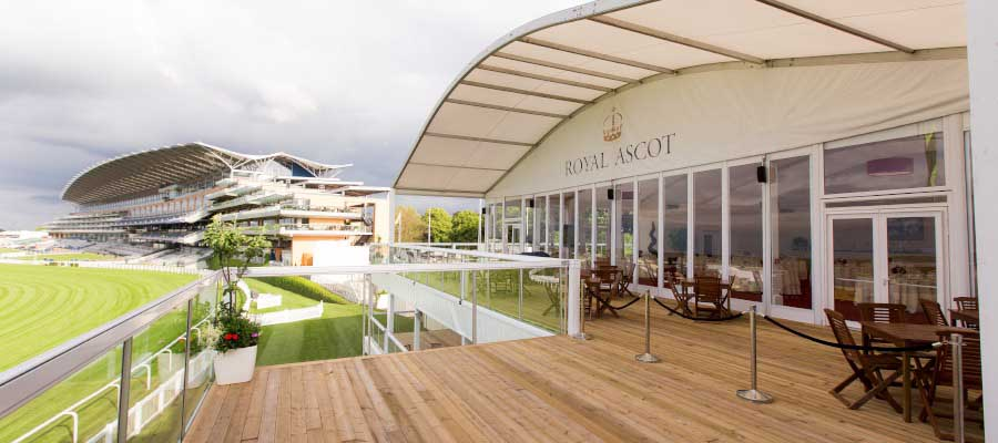 Horse Racing and Equestrian Corporate Hospitality Bespoke Multi Deck Structure
