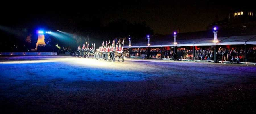 Horse Racing and Equestrian Military Display Temporary Event Structure
