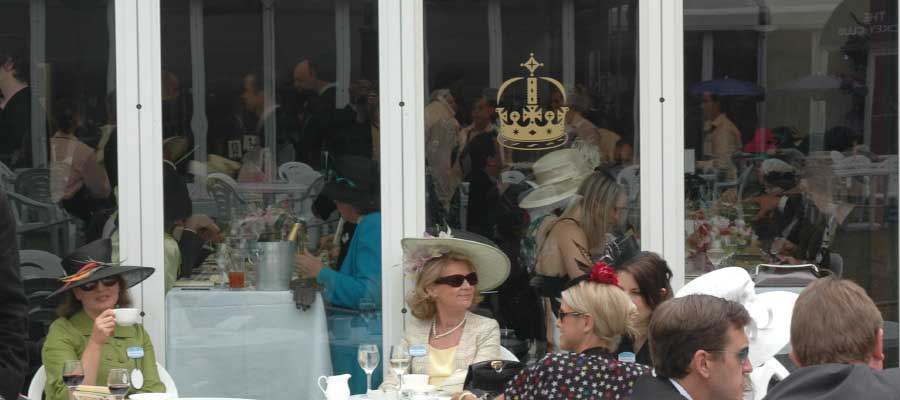 Horse Racing and Equestrian Temporary Dining Structure
