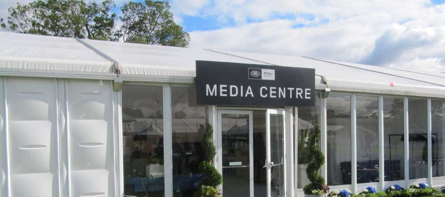 Horse Racing and Equestrian Temporary Media Centre