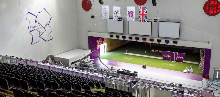 Olympics and Athletics Indoor Arena Seating