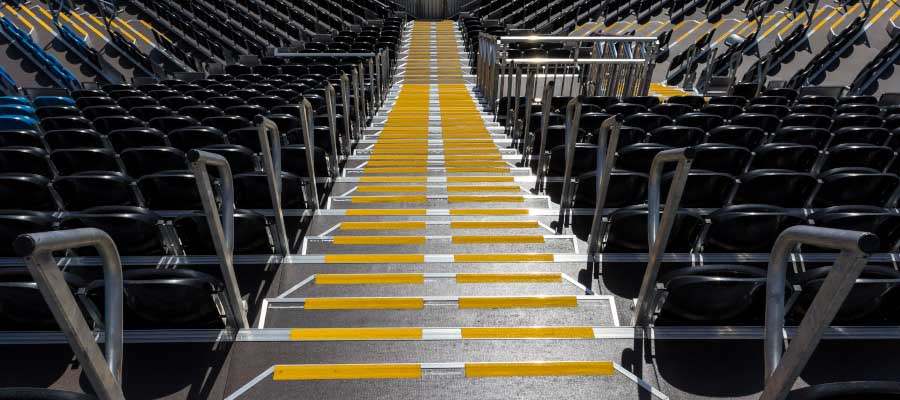 Olympics and Athletics Tiered Seats