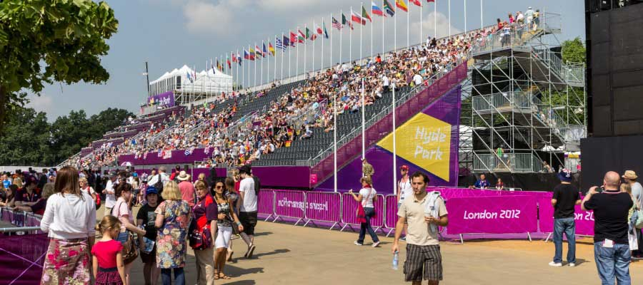 Olympics and Athletics Spectator Seating Grandstand Seats