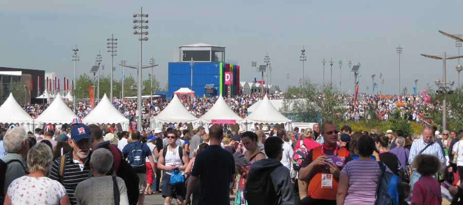 Olympics and Athletics Temporary Event Infrastructure Pop Up Pagoda