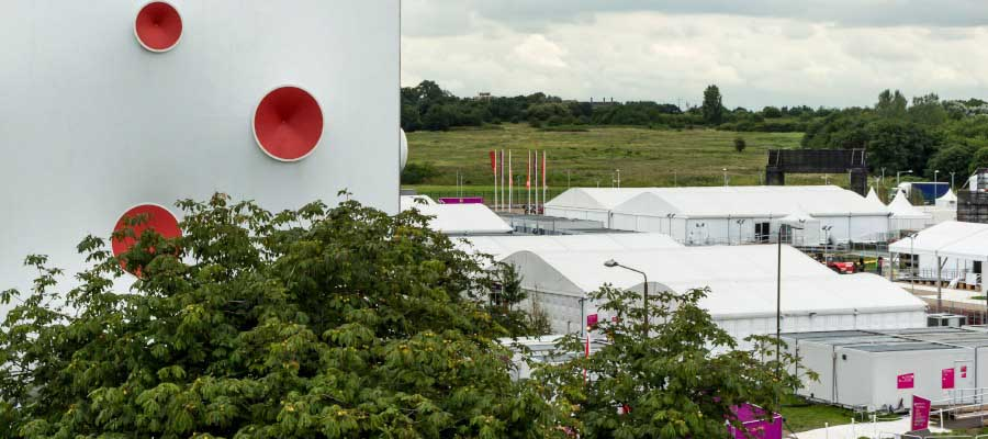 Olympics and Athletics Temporary Event Infrastructure