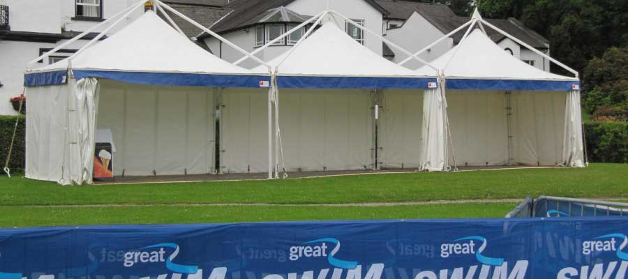 Olympics and Athletics Temporary Event Marquee Pagoda Hire