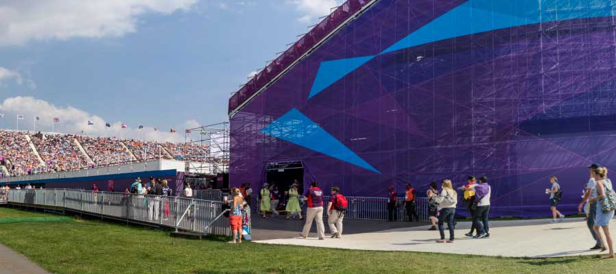 Olympics and Athletics Temporary Event Structure