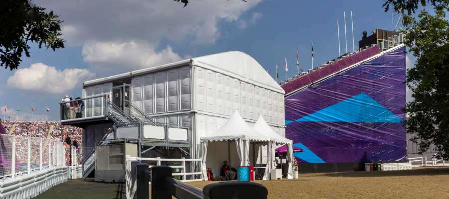 Olympics and Athletics Temporary Multi Storey Building